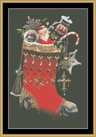 Christmas Stocking - Maxine Gadd | Crafting | Cross-Stitch | Other