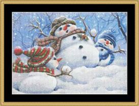 Snow Play - Maxine Gadd | Crafting | Cross-Stitch | Other