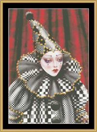 Black And White Harlequin - Maxine Gadd | Crafting | Cross-Stitch | Other