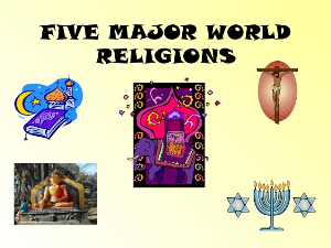 detailed info of  world religions ppt packs