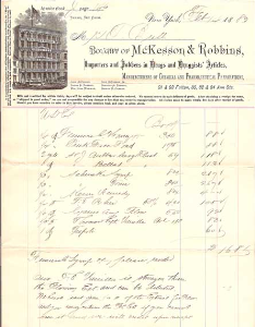 1883 invoice