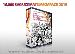 16,000 digitally handdrawn svg images for whiteboard video presentations