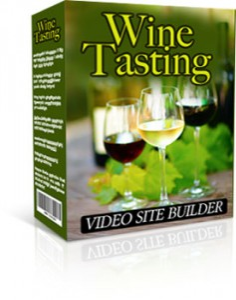 wine tasting video site builder