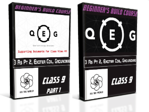 QEG Class 9: 3 Rs PT 2, EXCITER COIL, GROUNDING | Movies and Videos | Educational