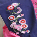 Fimbria Flowers 4x4 - HUS | Crafting | Embroidery