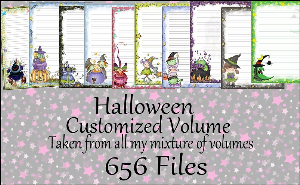 "Printable Stationery Designs: Custom Stationery Selection Volume ""Halloween"" 