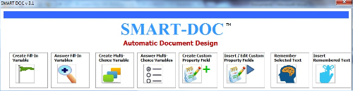 Second Additional product image for - Smart-Doc MS Word Addin