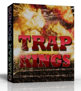 TRAP KINGS  5 Construction Kits   24 Bit WAV Loops | Music | Rap and Hip-Hop
