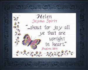 Name Blessings - Helen | Crafting | Cross-Stitch | Religious