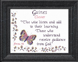 Name Blessings -  Gaines | Crafting | Cross-Stitch | Other