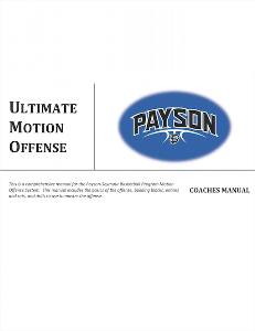 Ultimate Motion Offense Playbook | eBooks | Sports