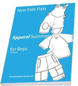 E-book SB15 Summer Boys | Other Files | Patterns and Templates