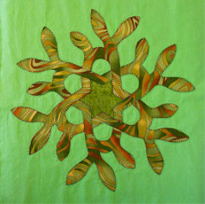 Spirit of Earth applique pattern | Crafting | Sewing | Quilting