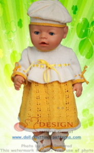 DollKnittingPatterns -0125D TORA - Kleid, Mütze, Unterhose und Schuhe -(Deutsch) | Crafting | Knitting | Other