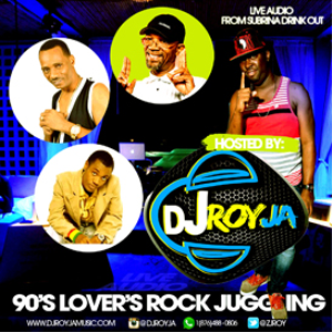 djroy  90's lovers rock live juggling