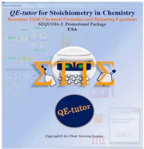qe-tutor for stoichiometry in chemistry
