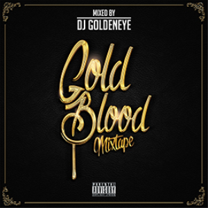gold blood (mixtape cover concept psd)
