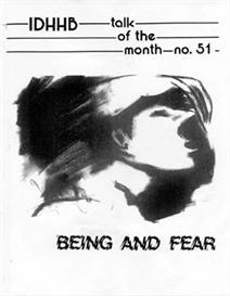 ToTM #51 Being and Fear - - Part 1 | eBooks | Religion and Spirituality