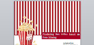 predicting box office based on data mining
