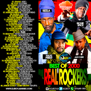 dj roy best of 2000 real rockers reggae mix