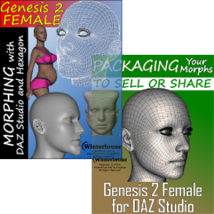 morphing complete for genesis 2 female using daz studio 4.6 and hexagon 2.5