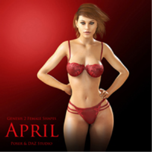 Genesis 2 Female Shapes: April | Software | Design