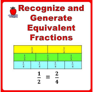 Equivalent Fractions, 3rd Grade, 4th Grade | eBooks | Education