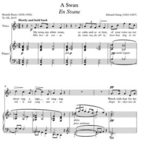 Grieg - A Swan | Music | Classical