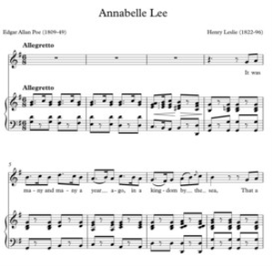 Leslie - Annabelle Lee | Music | Classical