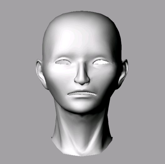First Additional product image for - Asian Head 3D Model