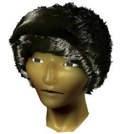 Asian Head 3D Model | Other Files | Clip Art