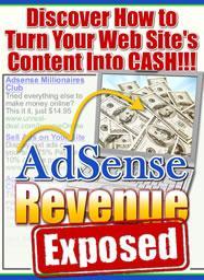 Ad Sense Revenue Exposed! | eBooks | Internet