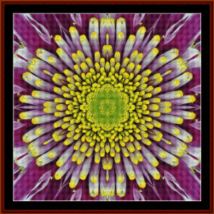 Fractal 497 cross stitch pattern by Cross Stitch Collectibles | Crafting | Cross-Stitch | Wall Hangings