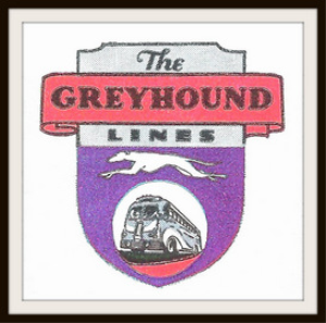 greyhound line magazine ads package