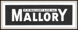 mallory batteries magazine ads package
