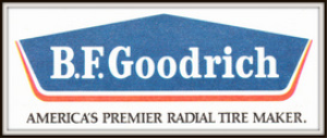b.f. goodrich tires magazine ads package