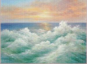Vlny (Waves) | Crafting | Cross-Stitch | Other