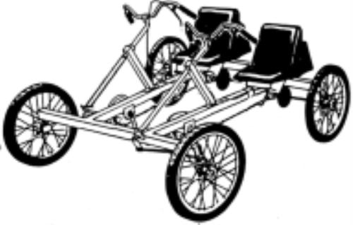 4 Person Pedal Car Plans Pvc