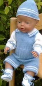 DollKnittingPattern 0002D Timmy - Trui, broek, muts en sokje-(Nederlands) | Crafting | Knitting | Other