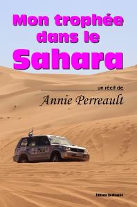 mon trophée dans le sahara, par annie perreault