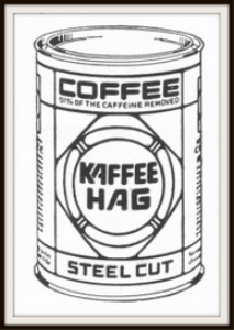 kaffee hag coffee magazine ads package