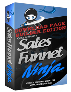 sales funnel ninja download page builder