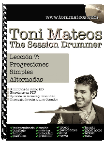 the session drummer. leccion 7. progresiones simples alternadas hd