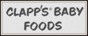 clapp's infant foods magazine ads package