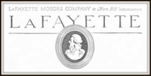 lafayette motors company magazine ads package