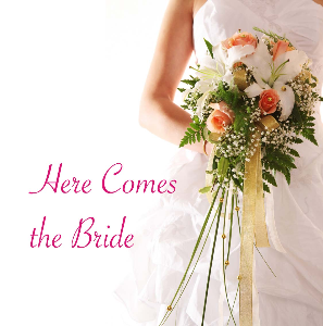here comes the bride (sheet music)