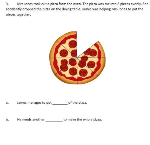 Second Additional product image for - Fractions Word Problems - 4th Grade, 5th Grade