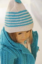 Knitting Pattern Doll Socks : DollKnittingPattern 0126D VANESSA - Jacket, Suit, Cap ...