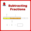 Subtracting Fractions 4th Grade 5th Grade | eBooks | Education