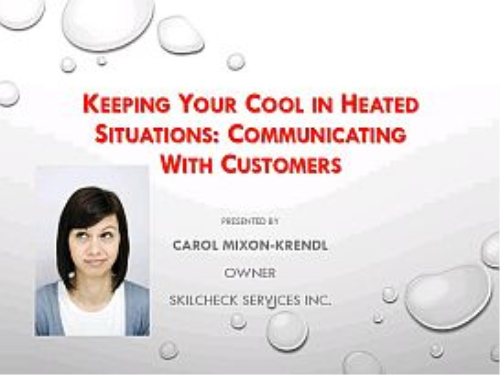 Second Additional product image for - Keeping Your Cool in Heated Situations